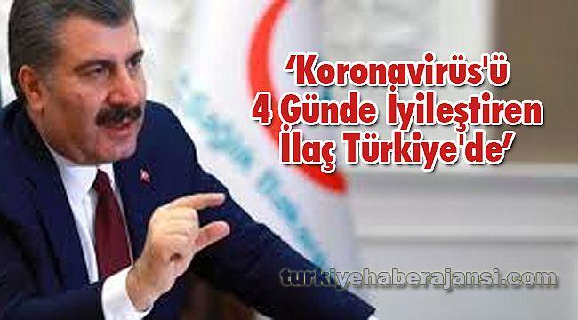 Koronavirüs'ü 4 Günde İyileştiren İlaç Türkiye'de