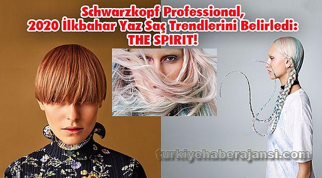Schwarzkopf Professional'dan, 2020 İlkbahar Yaz Saç Trendi: THE SPIRIT!