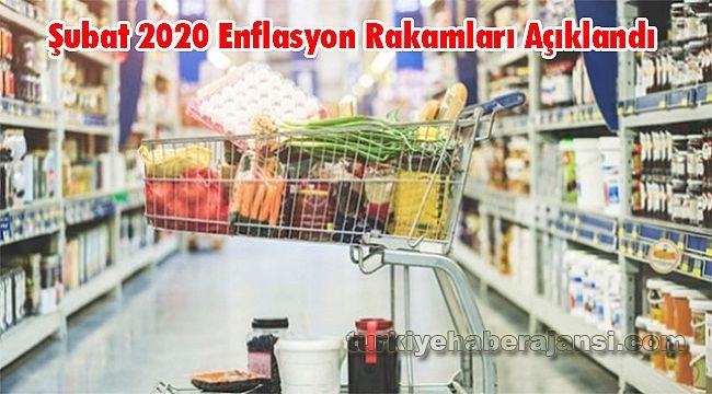 Şubat 2020 Enflasyon Rakamları Açıklandı
