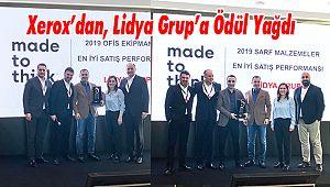 Xerox'dan, Lidya Grup'a Ödül Yağdı
