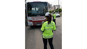 Adana'da 107 Toplu taşıma araç şoförüne CEZA kesildi