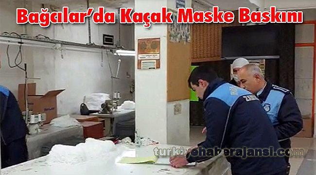 Bağcılar'da Kaçak Maske Baskını