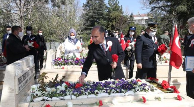 EGM Aktaş'tan Polis Şehitliği'ne ZİYARET