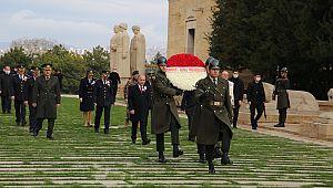 Emniyet Teşkilatı 175. Yılında Ata'nın Huzurunda