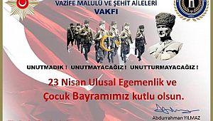 EMŞAV Başkanı Yılmaz'dan Bayram Kutlama mesajı