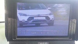 Hız ihlalinden 22 bin 970 sürücüye ceza kesildi