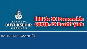 İBB'de 90 Personelde COVİD-19 Pozitif Çıktı