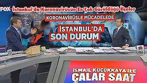 İstanbul'da Koronavirüsün En Çok Görüldüğü İlçeler