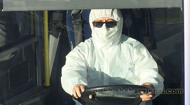 İstanbul'da Maskesiz sürücü ve yolculara ceza uygulanacak