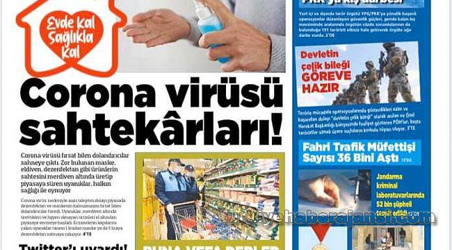 Polis Medya Gazetesinin Nisan sayısı beğenildi