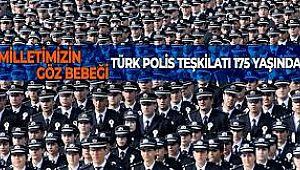 Türk Polis Teşkilatı 175. yaşında, kutlu olsun..