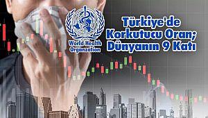 Türkiye'de Korkutucu Oran; Dünyanın 9 Katı