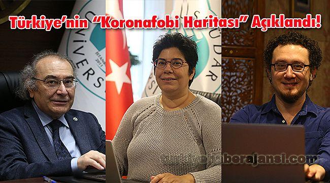 """Türkiye'nin """"Koronafobi Haritası"""" Açıklandı!"""