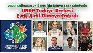 UNDP Türkiye Herkesi Evde Aktif Olmaya Çağırdı