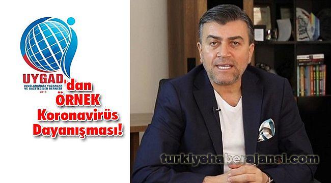 UYGAD'dan ÖRNEK Koronavirüs Dayanışması!