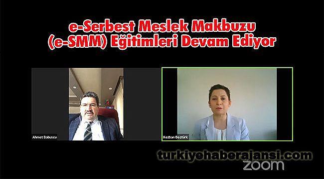 e-Serbest Meslek Makbuzu (e-SMM) Eğitimleri Devam Ediyor