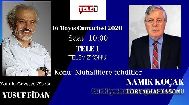 Emniyet Müdürü Yusuf Fidan, TV programına konuk olacak