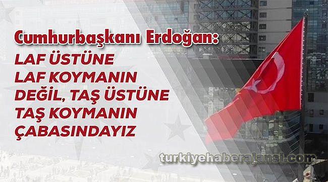 Erdoğan: Türkiye'nin Tökezlemesini Bekleyenleri Bir Kez Daha Üzeceğiz