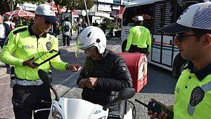 Kask Takmayan 1148 Motosiklet Sürücüsüne CEZA