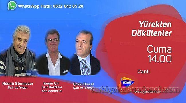 Şair Müdür Şevki Dinçal, TV programına konuk olacak