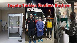 Toyota Otomotiv Sanayi Türkiye Üretime Başlıyor