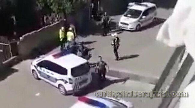 Valilik olaya el attı, o polisler açığa alındı