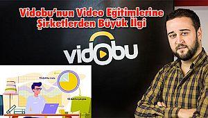 Vidobu'nun Video Eğitimlerine Şirketlerden Büyük İlgi