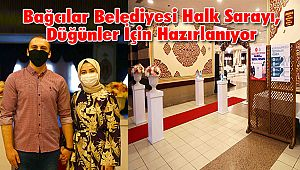 Bağcılar Belediyesi Halk Sarayı, Düğünler İçin Hazırlanıyor