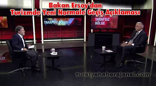 Bakan Ersoy'dan Turizmde Yeni Normale Geçiş Açıklaması