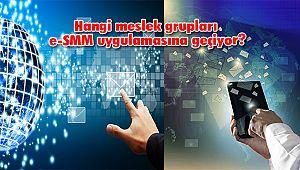 Hangi Meslek Grupları e-SMM Uygulamasına Geçiyor?