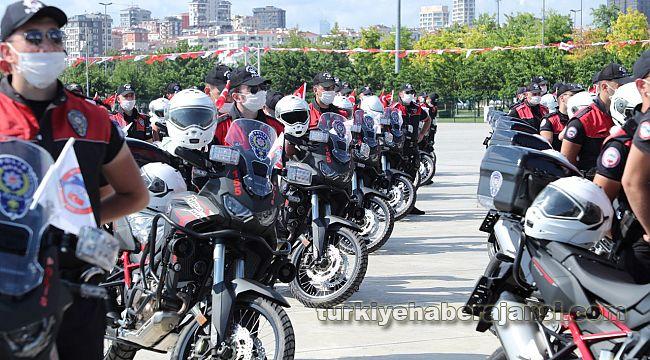 İstanbul Yunus Timlerine motosiklet takviyesi