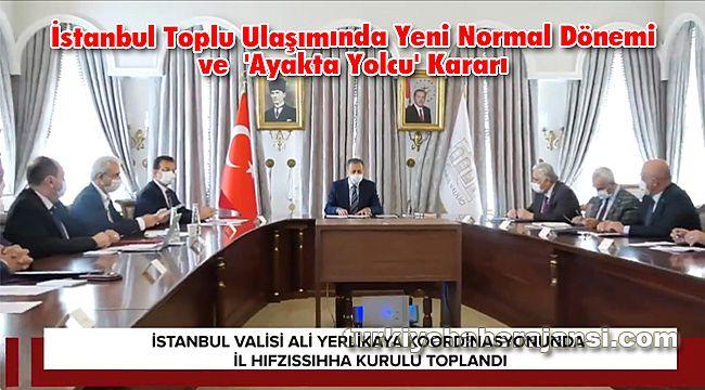 İstanbul Toplu Ulaşımında 'Ayakta Yolcu' Kararı