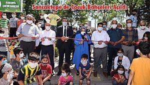 Sancaktepe'de Çocuk Bahçeleri Açıldı