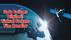 Türksat Frekans Tüm Kanallar Uydu Frekans Bilgileri