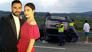 Türkücü Alişan ailesiyle birlikte kaza geçirdi