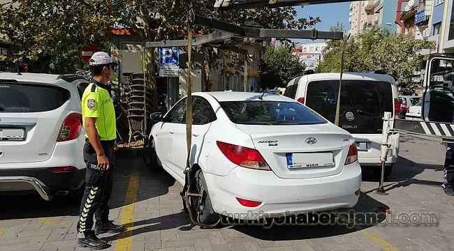 Engelli Park alanını kullanan sürücülere CEZA
