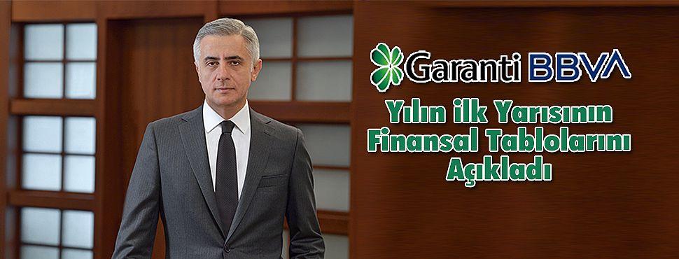 Garanti BBVA, Yılın ilk Yarısının Finansal Tablolarını Açıkladı
