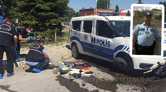 Görevden dönen polis memurları kaza yaptı: 1'i ağır 2 yaralı