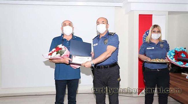 Polislere SOSYAL FON'dan 281 ALTIN hediye verildi