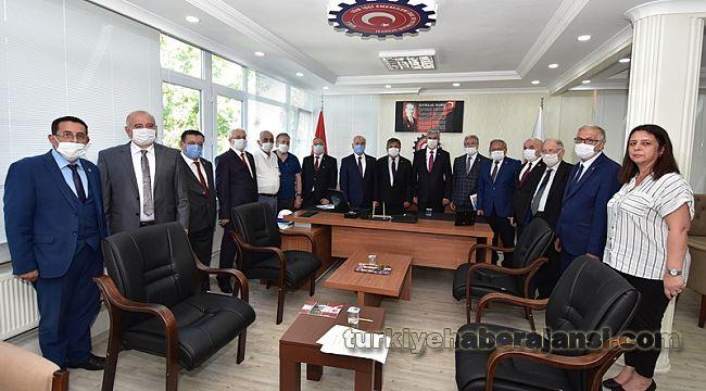 Türkiye Emekliler Platformu, BASIN TOPLANTISI düzenledi