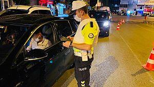 Alkollü araç kullanan 74 bin 797 sürücüye CEZA