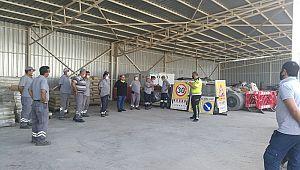 Antalya ASAT Personeline Trafik Eğitimi Verildi