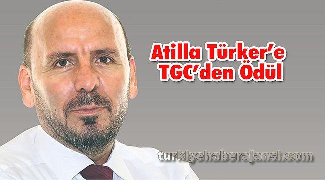 Atilla Türker'e Türkiye Gazeteciler Cemiyeti'nden Ödül