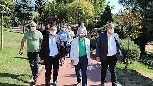 Başkan Aydıner 'Koronavirüs' Denetiminde