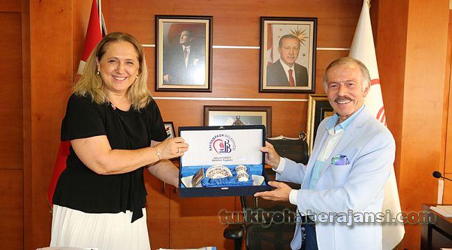 Başkonsolos Novobrdalija'dan Aydıner'e Ziyaret