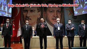 'Doğu Akdeniz'de Çözümün Yolu, Diyalog ve Müzakeredir'