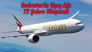 Emirates'in Uçuş Ağı 77 Şehre Ulaşacak
