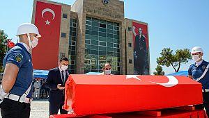 Emniyet Müdürü Osman Bagatır, ebedi yolculuğuna uğurlandı