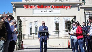 Erdoğan, 'Filistin Halkının Yanındayız'
