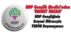 HDP Gençlik Meclisi'nden 'İHANET İMZASI'